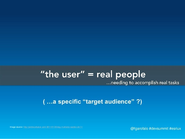 """( …a specific """"target audience"""" ?)Image source: http://profesorbaker.com/2011/01/20/day-4-wheres-waldo-cck11/             ..."""