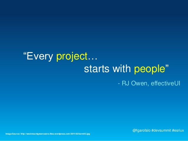"""""""Every project…                             starts with people""""                                                           ..."""