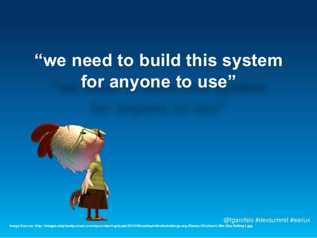 """""""we need to build this system                   for anyone to use""""                                                        ..."""