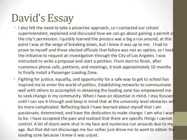 Essays on greatest accomplishments