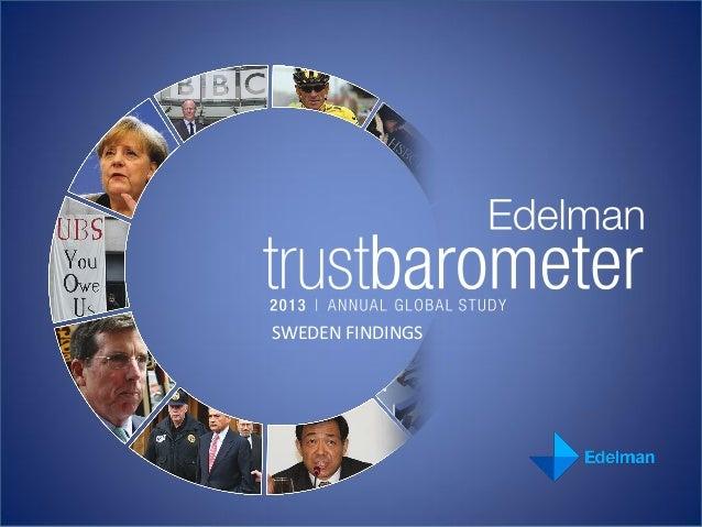 SWEDEN FINDINGS