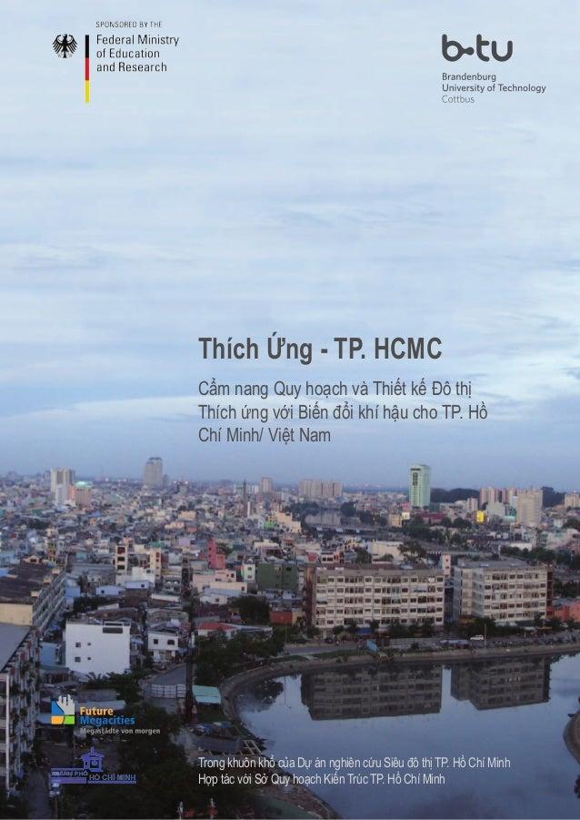 Cẩm nang Quy hoạch và Thiết kế Đô thị Thích ứng với Biến đổi khí hậu cho TP. Hồ Chí Minh/ Việt Nam Thích Ứng - TP. HCMC Tr...