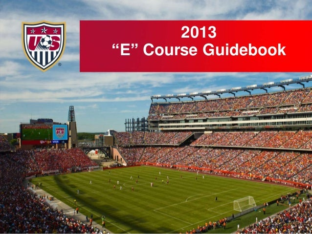 "2013 ""E"" Course Guidebook"