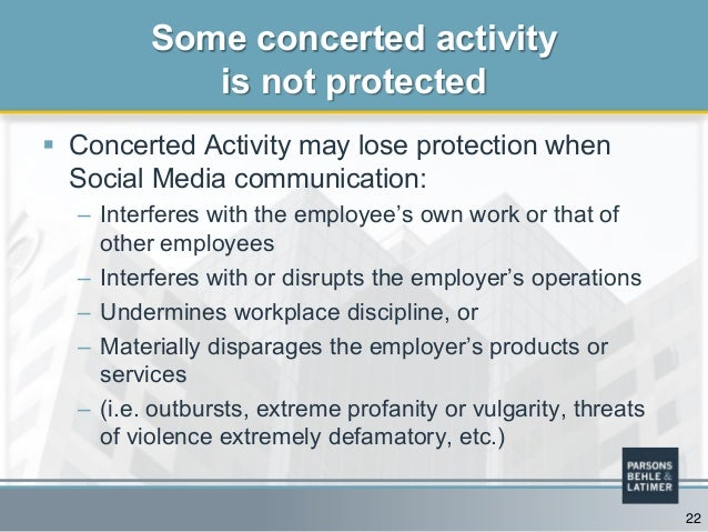 protected concerted activity