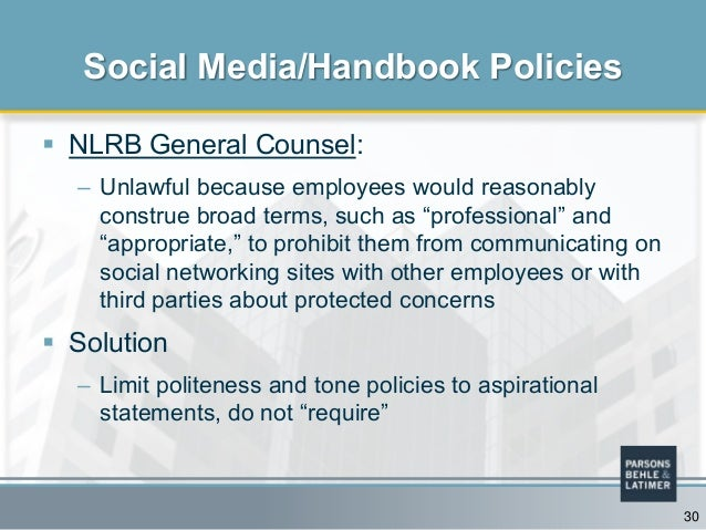 Do Your Company S Policies Need A Social Media Overhaul