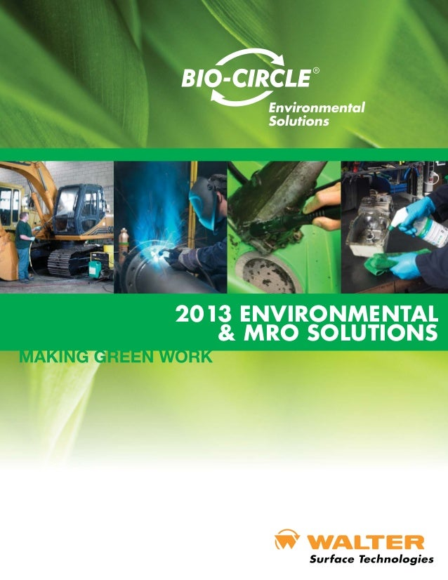 2013 ENVIRONMENTAL   & MRO SOLUTIONS