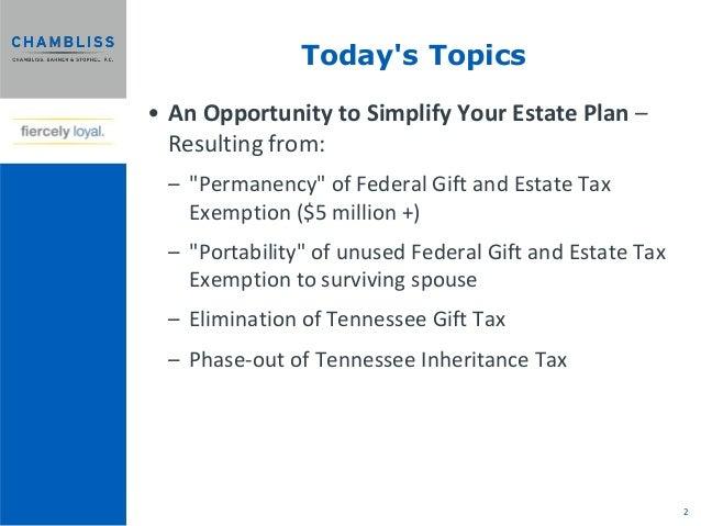 2013 Estate Planning Seminar