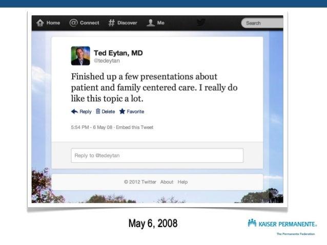 Social Media / Academic Medicine - co-presentation with @Futuredocs & @Doctor_V Slide 3