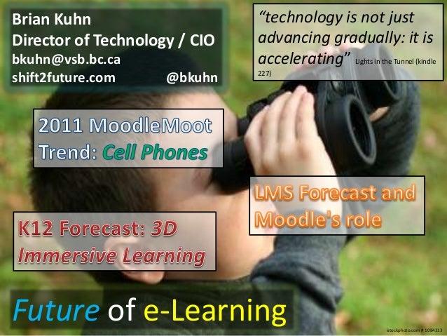 "Brian Kuhn                     ""technology is not justDirector of Technology / CIO   advancing gradually: it isbkuhn@vsb.b..."