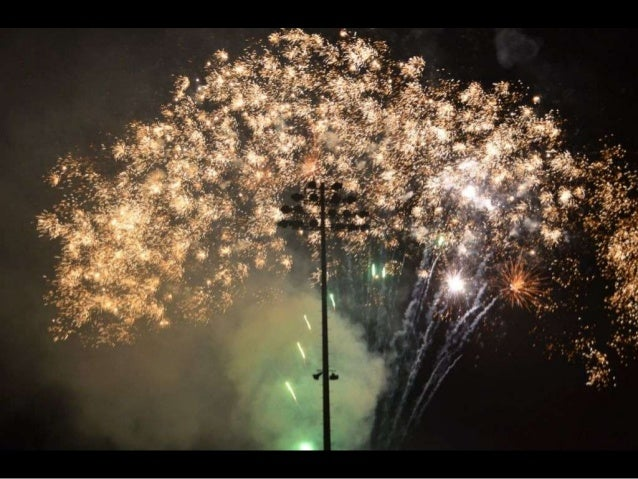 2013 Fireworks and First Pep Rally