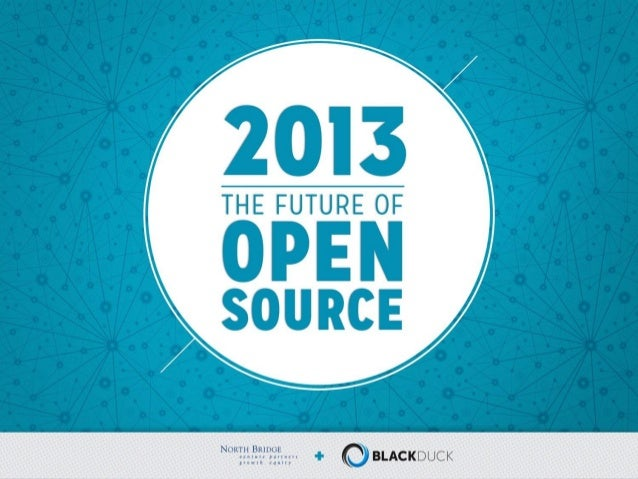2013 - The Future of Open Source North Bridge and Black Duck logos