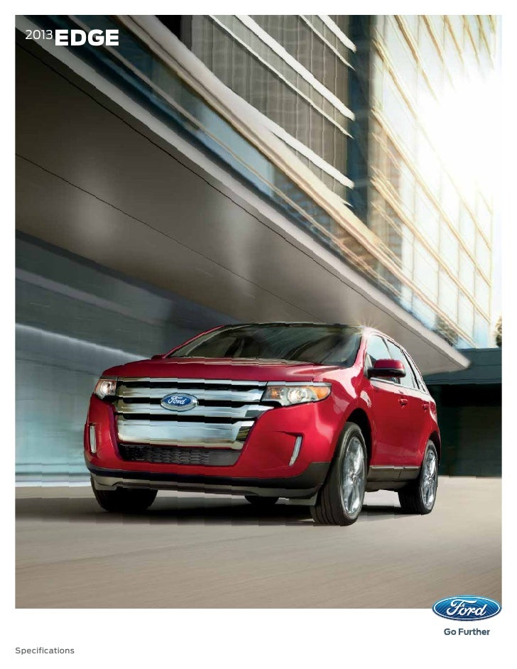 Ford Edge Specs  Edgespecifications
