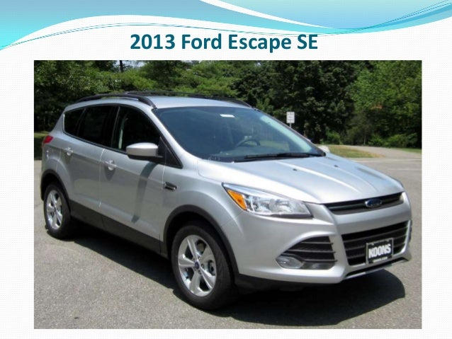 Fred Beans Ford Doylestown >> 2013 Ford Escape Doylestown PA