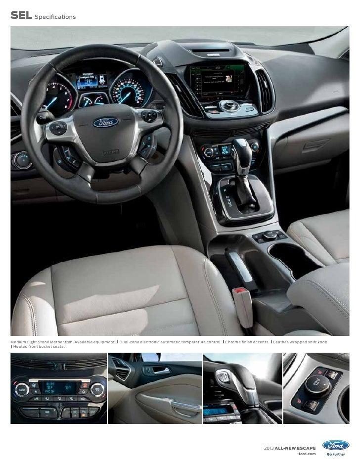 2013 Ford Escape Specs