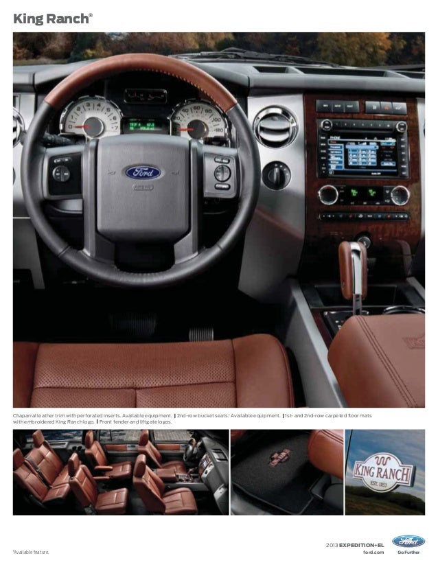 2013 Ford Expedition Brochure