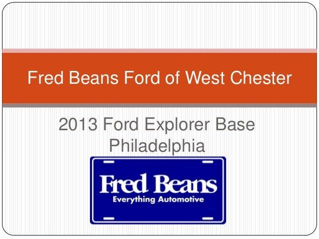 2013 ford explorer base philadelphia. Black Bedroom Furniture Sets. Home Design Ideas