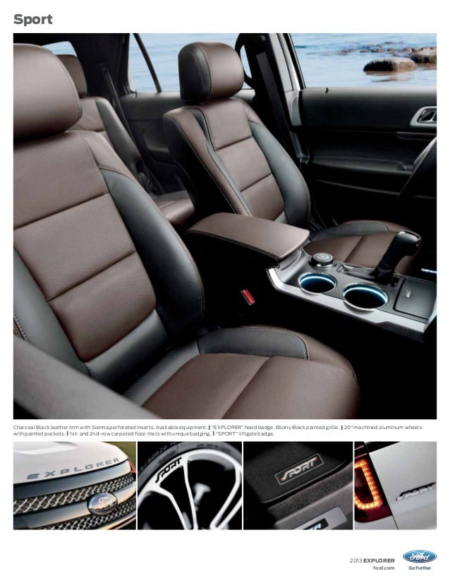 2013 Ford Explorer Brochure Wa Kent Ford Dealer
