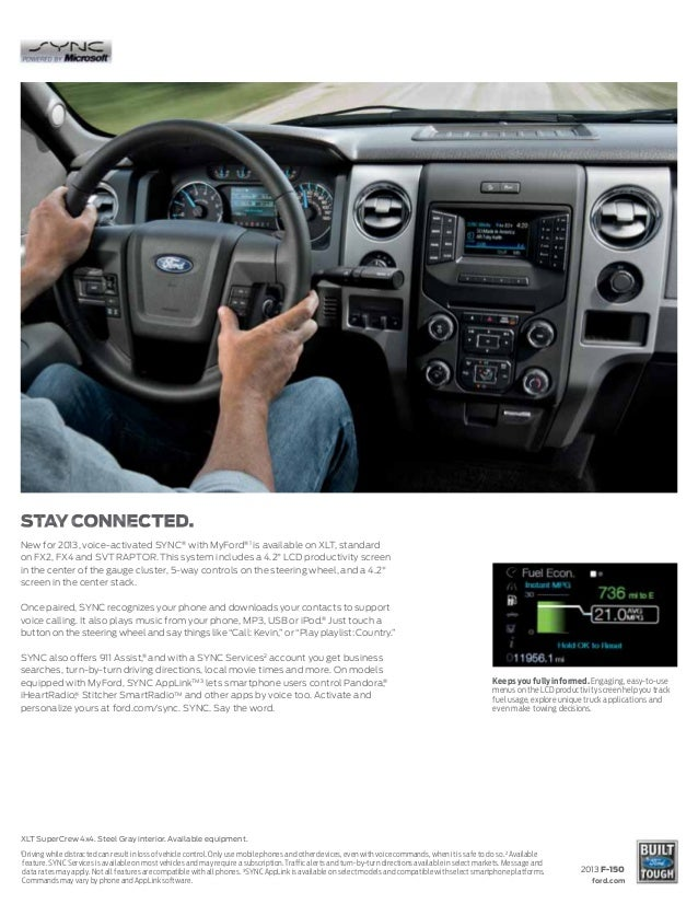 2013 Ford F-150 Brochure WA | Kent Ford Dealer