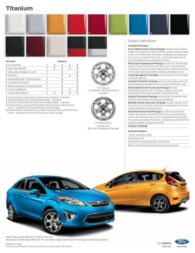 ... ford.com; 19.  sc 1 st  SlideShare & 2013 Ford Fiesta Brochure WA | Kent Ford Dealer markmcfarlin.com