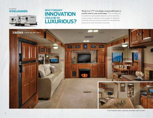windjammer signature ultra lite travel trailers u0026 fifth 2. 2 Bedroom Rv  2 Bedroom Park Model Homes Floor Plans Gurus Rv