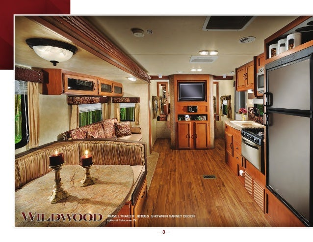 2013 Forest River Wildwood Travel Trailer Fifth Wheel