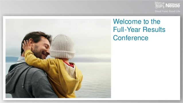 Welcome to the Full -Year Results Conference
