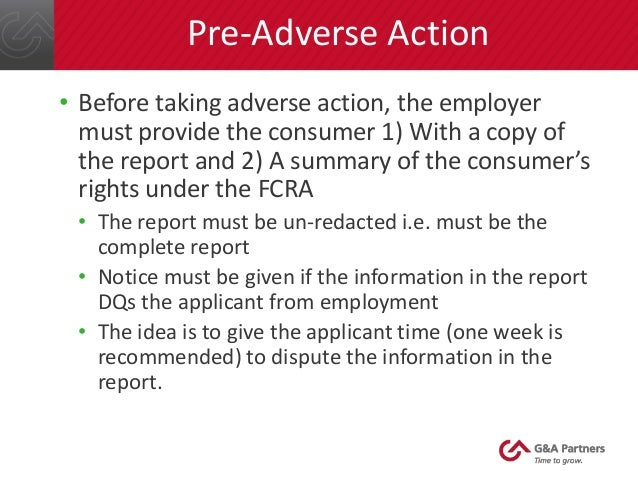 pre adverse action letter fair credit reporting act basics 24041 | fair credit reporting act basics 18 638