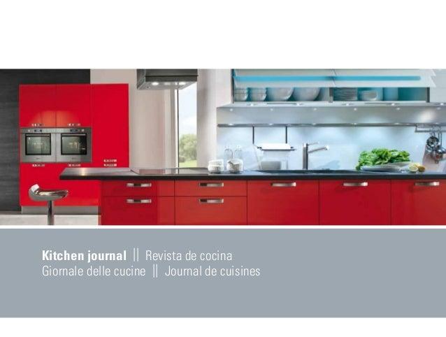 Kitchen journal    Revista de cocinaGiornale delle cucine    Journal de cuisines