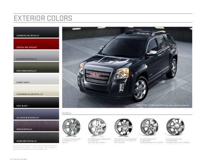 2018 Gmc Terrain Denali White >> 2013 GMC Terrain Brochure | Greeley GMC Dealer