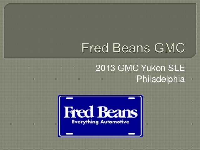 2013 GMC Yukon SLE        Philadelphia
