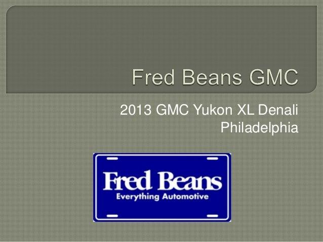 2013 GMC Yukon XL Denali            Philadelphia
