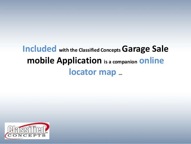find for our garagesale in your items listed you introducing garagesaleeasy now every indiegogo and locator garage the be can sale network use is free easy using app buyers featured to projects