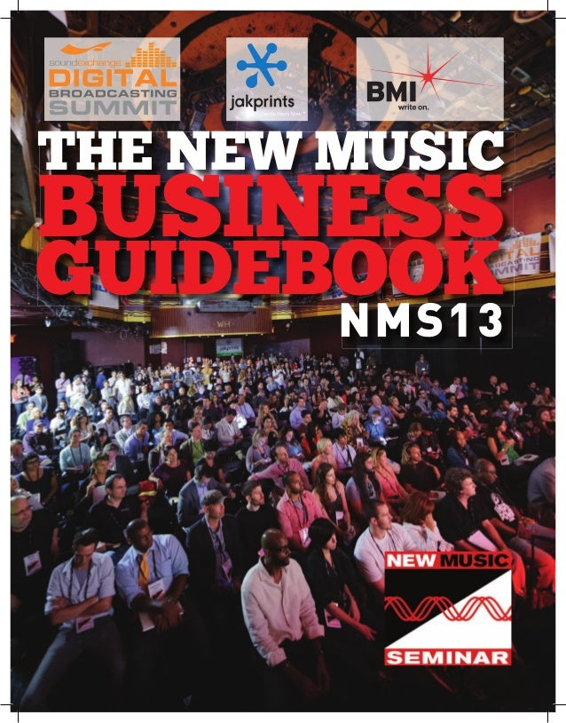 the neW Music  business  guidebook nmS13