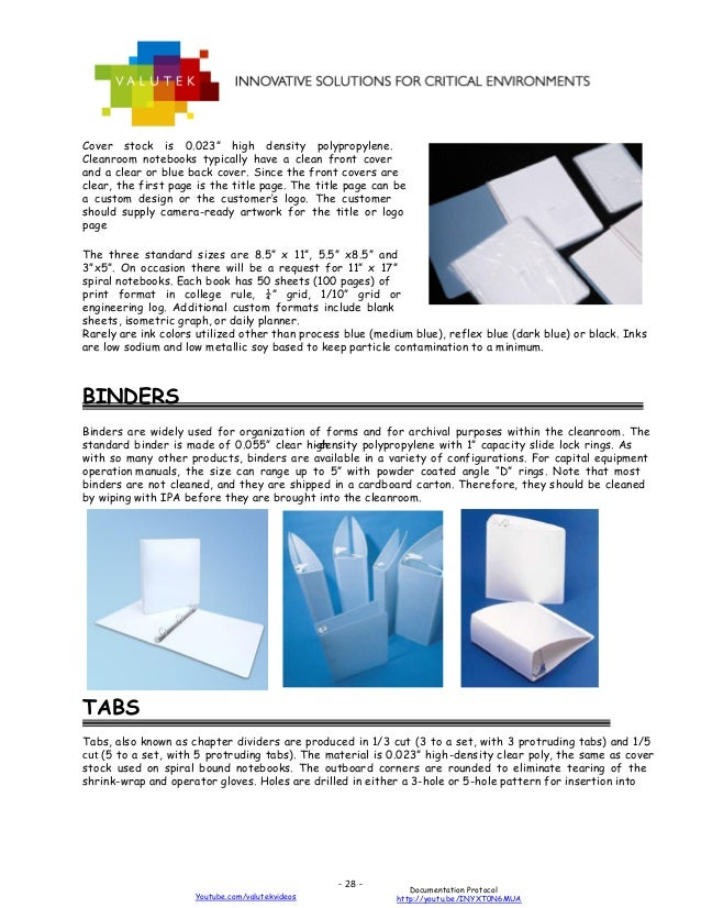 2013 Guide to a Contamination Free Cleanroom