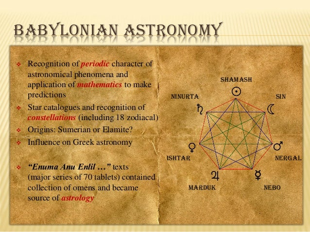 Babylonian Astronomy History - Pics about space