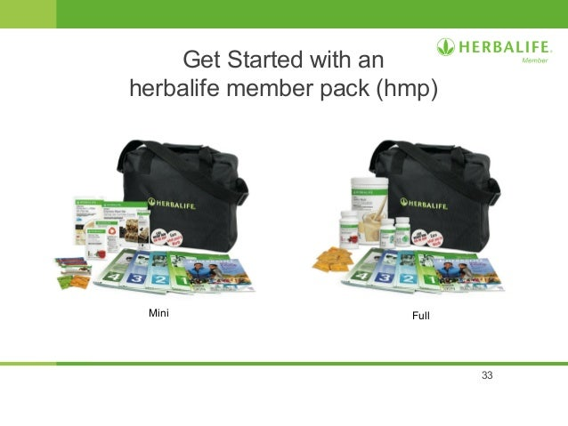 Herbalife Opportunity slide presentation from Herbalife