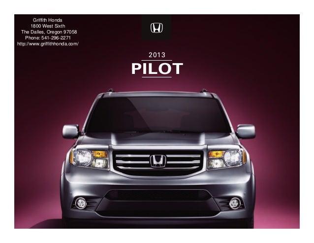 Honda Dealership Portland >> 2013 Honda Pilot For Sale Or Portland Honda Dealer