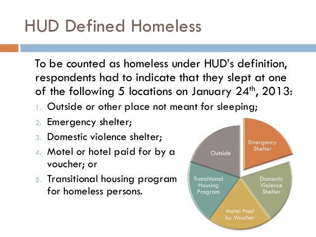 2013 housing status survey results