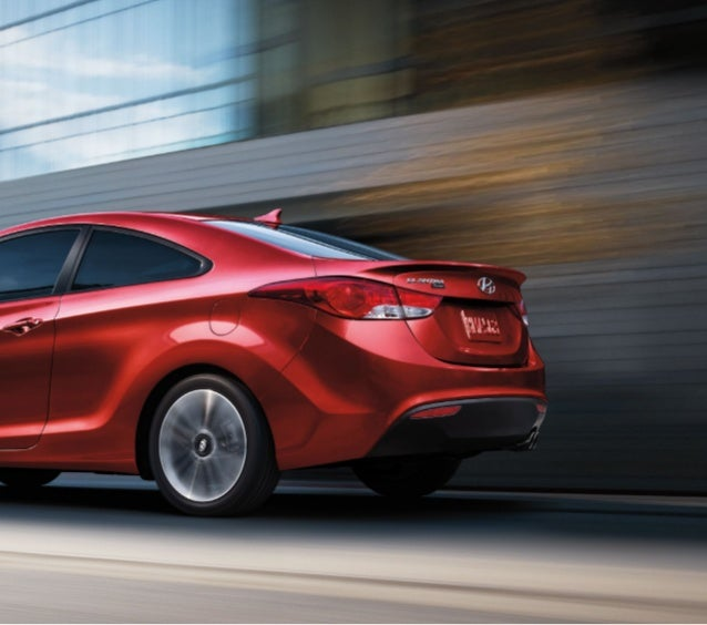 """LIVE LARGER. """"Without a doubt, the Hyundai Elantra is one of the best compact sedans you can buy today."""" – MotorTrend.com,..."""