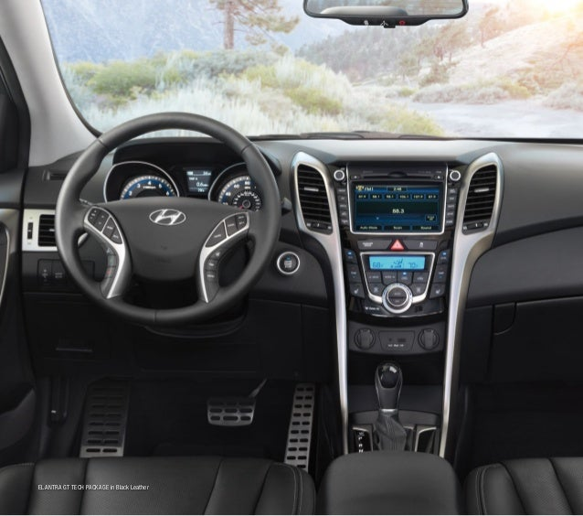 1 www.epa.gov. 2 Proximity key optional on Elantra SE, Elantra Limited and Elantra GT Tech/Touch  Go packages. 3 The Blue...