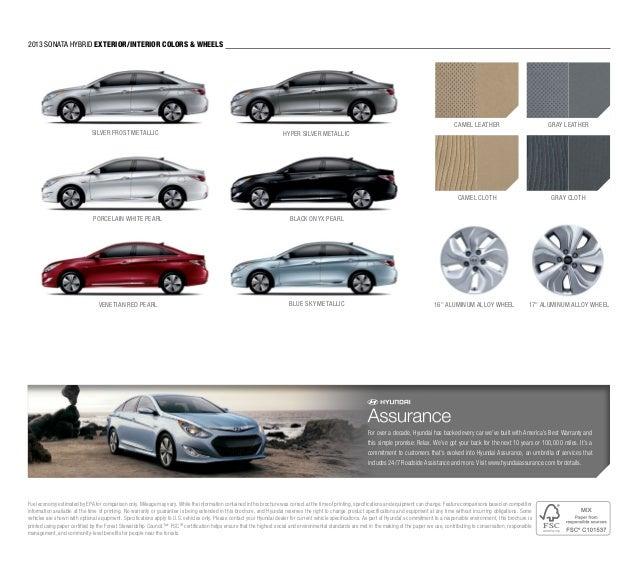 2013 Hyundai Sonata Brochure Glenbrook Hyundai Happy Car Store Fort W…
