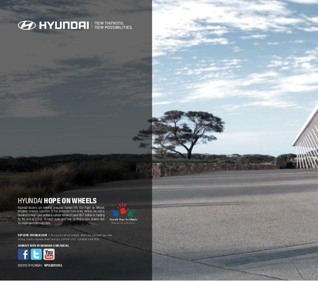 Hyundai Houston Texas: 2013 Hyundai Sonata Brochure Glenbrook Hyundai Happy Car