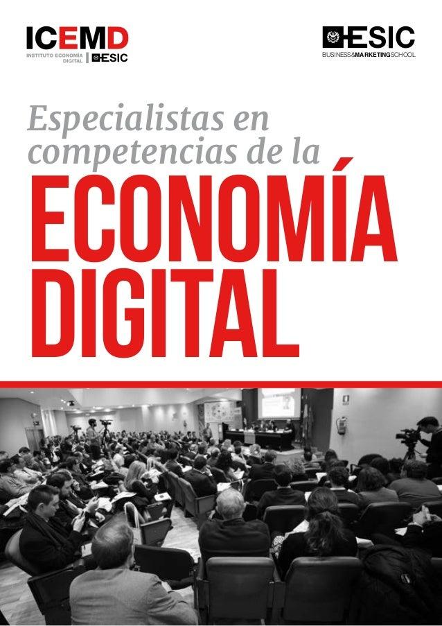 Especialistas en competencias de la Economía Digital BUSINESS&MARKETINGSCHOOL