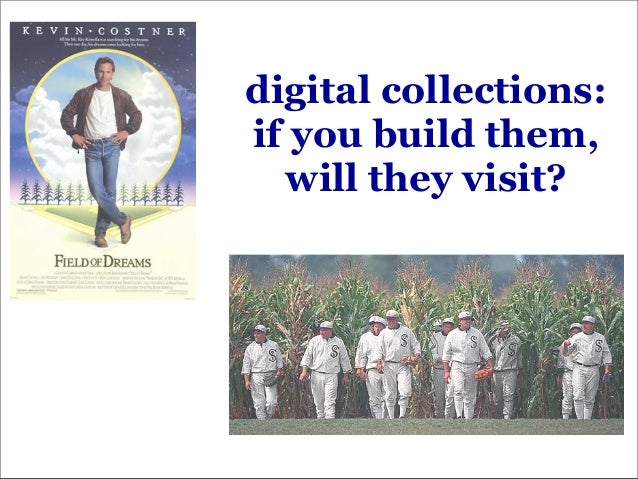 digital collections: if you build them, will they visit?