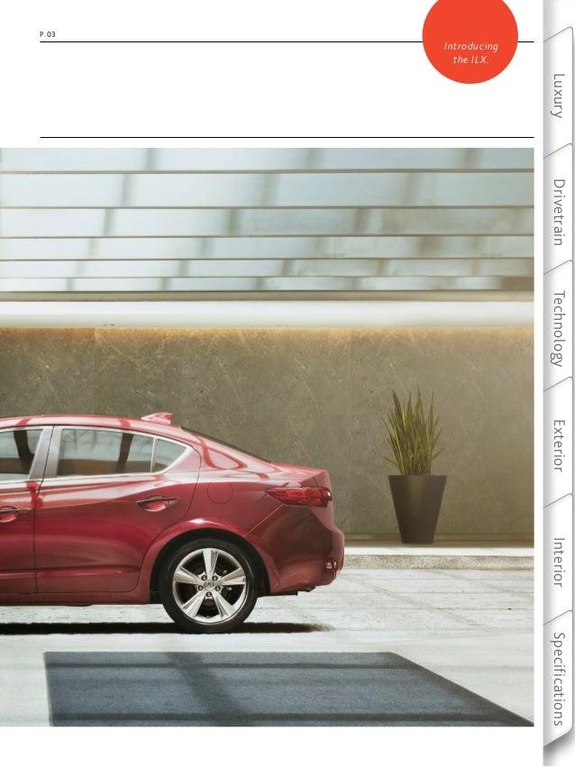 2013 Acura Ilx Brochure Dch Acura Of Temecula