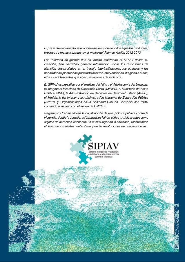 2013 informe de gestion sipiav (1)