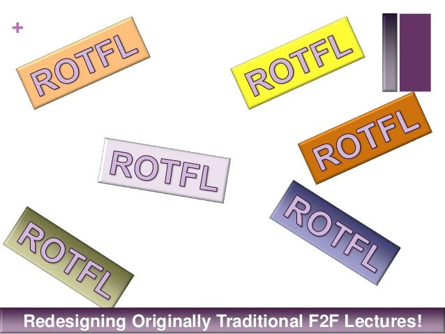 +Redesigning Originally Traditional F2F Lectures!