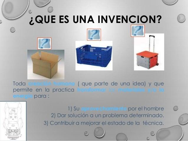 invenciones que es