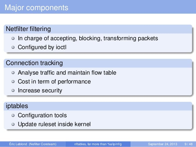 Kernel Recipes 2013 - Nftables, what motivations and what