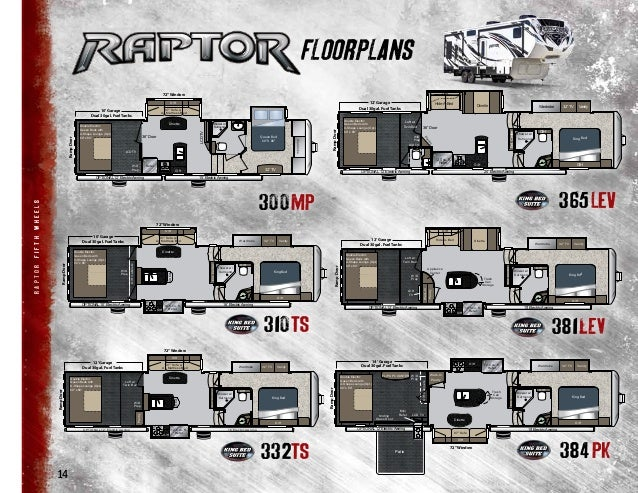 2013 Keystone Raptor Toy Hauler